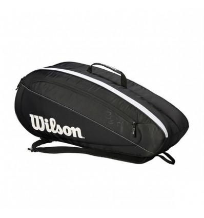 Wilson Fed Team 6PK Black/White