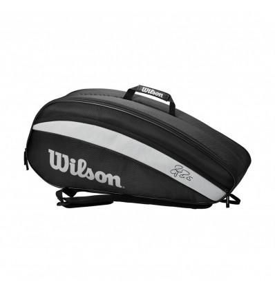 Wilson RF Team 6PK Black/White