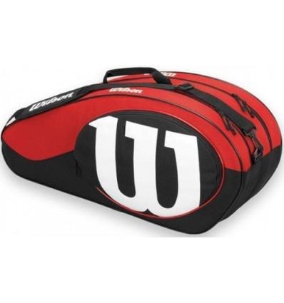 Wilson MATCH II 6PK BAG BKRD