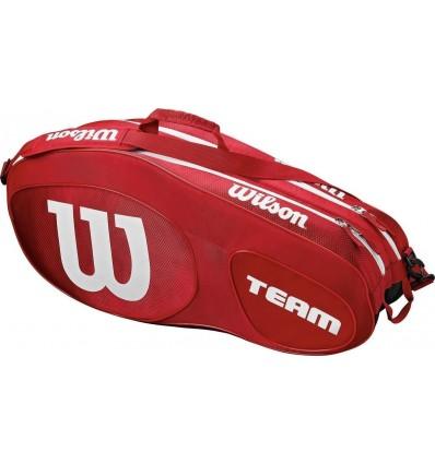 Wilson TEAM III 6 PACK RDWH