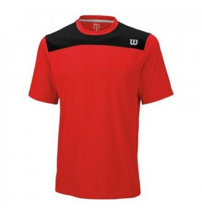 Wilson KNIT-STRETCH WOVEN CREW RED - KOPA SPORT s.r.o. 1c8ee1526d
