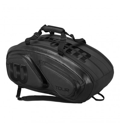 WIlson Tour V 15 Pack Black